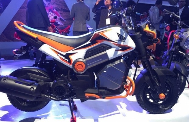 Auto Expo 2016: Honda NAVI Mini Bike Launched; Priced At