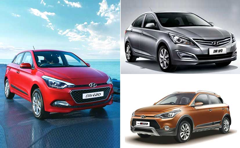 2016 hyundai i20 i20 active and verna updated with new features ndtv carandbike. Black Bedroom Furniture Sets. Home Design Ideas