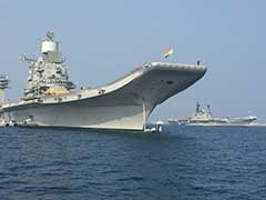 INS Vikramaditya, 2 Other Ships On 4-Day Visit To Maldives