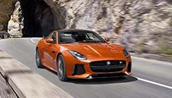 Jaguar F-Type SVR Available for Bookings; Prices Start at GBP 110,000