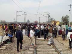 Jat Quota Protest Disrupts Road, Rail Traffic In Rohtak-Jhajjar Region