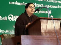 A Rare Public Appearance By Chief Minister Jayalalithaa Provoked By Opposition?