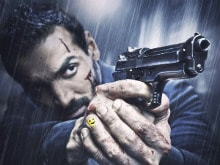 John Abraham is Hurt and Bleeding in New Rocky Handsome Poster