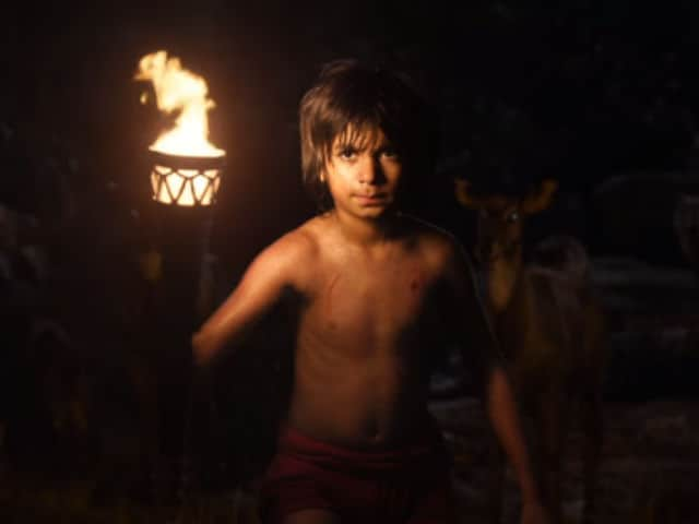 Shere Khan vs Bagheera in Jungle Book Trailer. The Prize is Mowgli