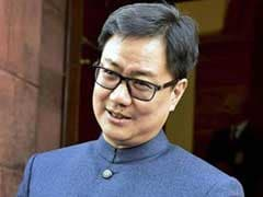 Kiren Rijiju Hits Out At Congress Over GK Pillai's Statement In Ishrat Case