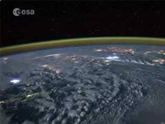 Astronaut Posts Thrilling Video of What Lightning Looks Like From Space