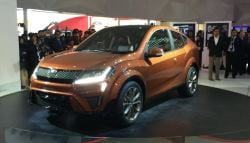 Mahindra's First Concept Car at the Auto Expo, XUV Aero, Unveiled