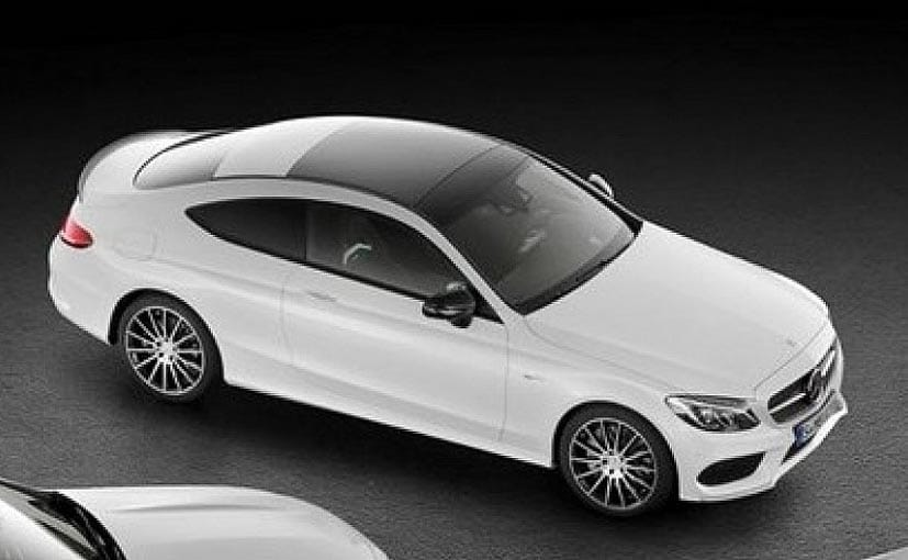 Mercedes amg c43 coupe revealed in c class cabriolet teaser ndtv carandbike - Mercedes c class coupe convertible ...