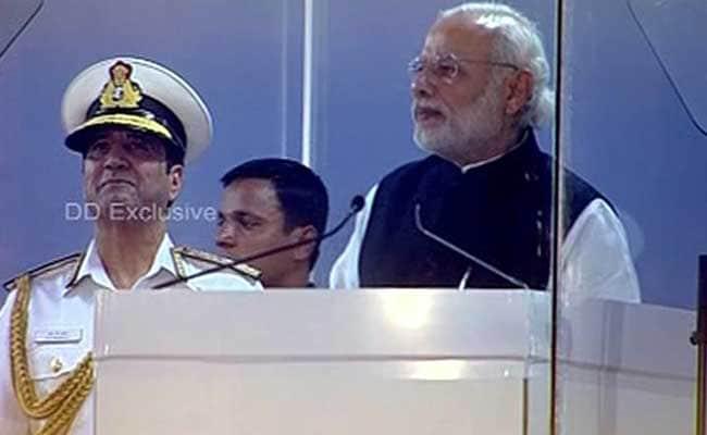 समंदर की सुरक्षा चुनौतीपूर्ण काम है, इंटरनेशनल फ्लीट रिव्यू में बोले पीएम नरेंद्र मोदी