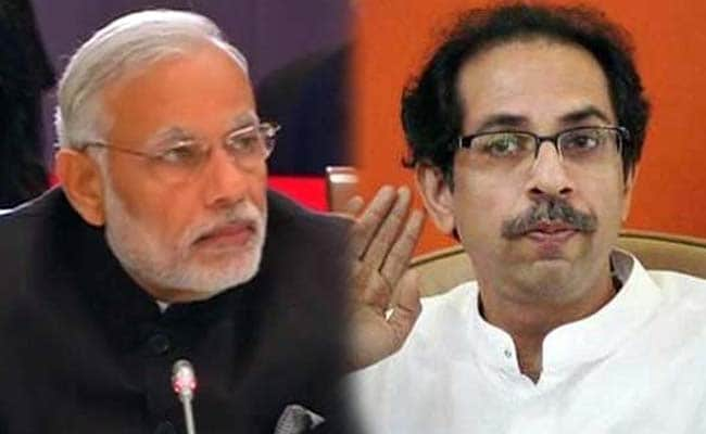 मंत्रिमंडल विस्तार पर शिवसेना का कटाक्ष, ' नरेंद्र मोदी अपनी सरकार में अकेले चेहरे'