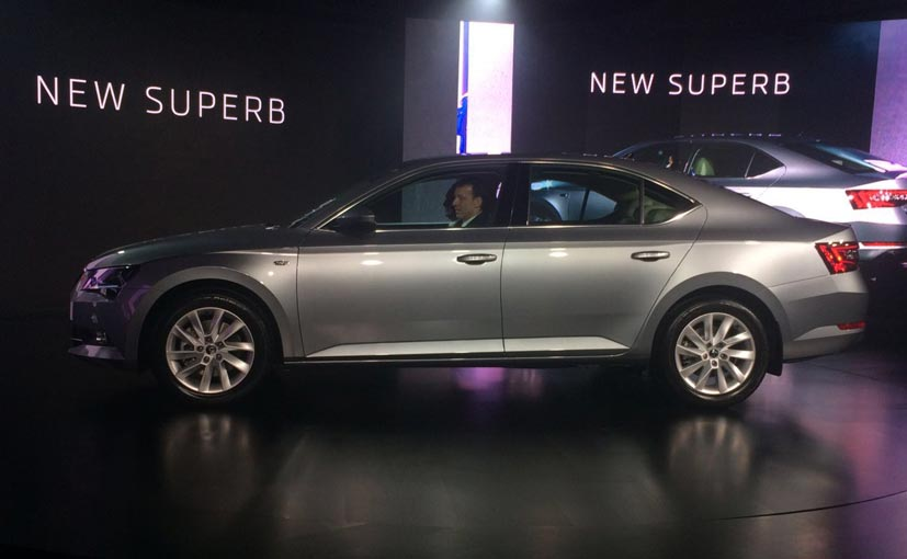 New-Gen Skoda Superb Launched in India; Prices Start at Rs. 22.68