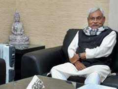 Bihar Chief Minister Nitish Kumar Meets Home Minister Rajnath Singh