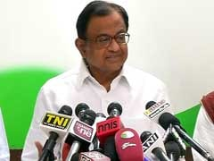 Former Finance Minister P Chidambaram Addresses Media: Highlights