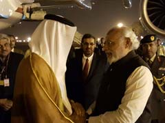 PM Modi Breaks Protocol To Personally Receive Abu Dhabi Crown Prince