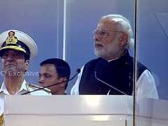 Securing Oceans Critical, Says PM Modi At Indian Navy's International Fleet Review