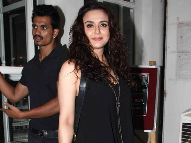 Leave Preity Zinta's 'Marriage Announcement' to Her
