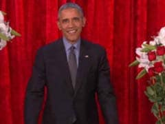 Love On Air: Watch President Obama Sing For His Valentine Michelle