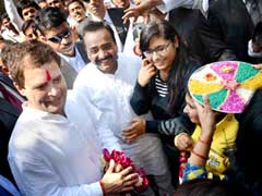 Rahul Gandhi Holds Talks On Uttar Pradesh Assembly Polls