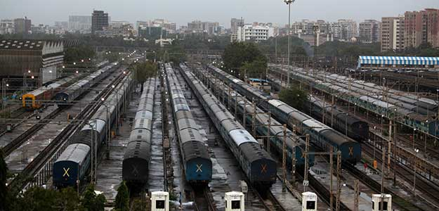 The service tax is not applicable to non-AC and sleeper class travel.
