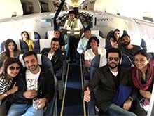 A Plane Full of Shilpa Shetty's 'First Class Friends'