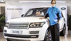 Amitabh Bachchan Takes Delivery of His Customised Range Rover
