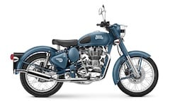 Royal Enfield Classic 500 Launched in Squadron Blue; Priced at Rs. 1,86,688