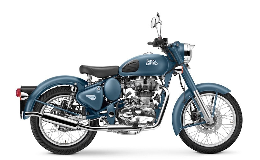 Royal Enfield Classic 500 Launched In Squadron Blue