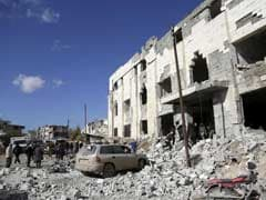 At Least 23 Killed In Airstrikes Near Damascus In Syria