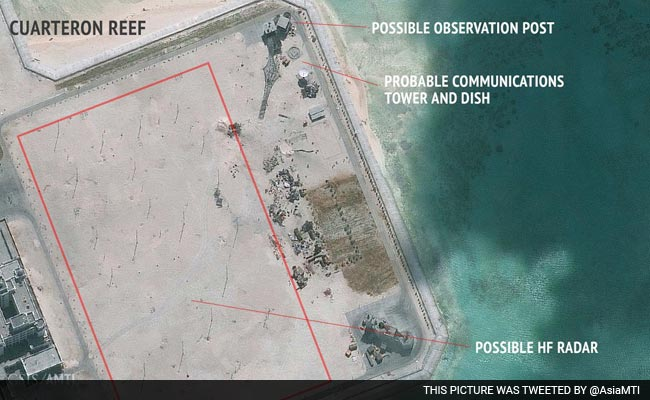 Satellite Images Show China May Be Building Powerful Radar On Disputed Islands
