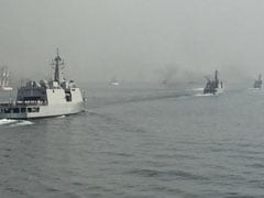 अंतरराष्ट्रीय फ्लीट रिव्यू में 100 जंगी जहाज़, राष्ट्रपति और प्रधानमंत्री भी पहुंचे