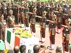 Hundreds Bid Emotional Farewell To Siachen Bravehearts In Tamil Nadu