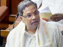 No Water In Karnataka's Reservoirs: Chief Minister Siddaramaiah