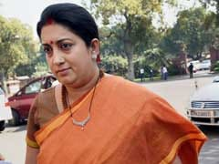 Narrow Escape For Smriti Irani After Accident On Yamuna Expressway
