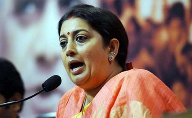 Won't Tolerate Insult To Mother India, Says Smriti Irani On JNU Protest