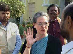 Ishrat Jehan Case: As BJP Escalates Attack, Sonia Gandhi Backs Chidambaram