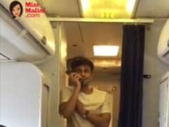 Sonu Nigam sang in a plane, passengers delighted, but crew is punished