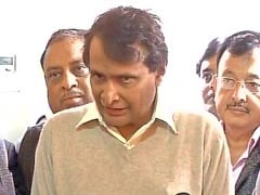 Suresh Prabhu Files Nomination For Rajya Sabha From Andhra Pradesh