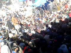 Tangdhar Villagers Try To Cross Line Of Control To Protest Against Food Security Act