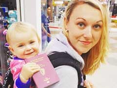 Baby, Not Yet 2, is Already a Globetrotter. Mom Took Her Round the World