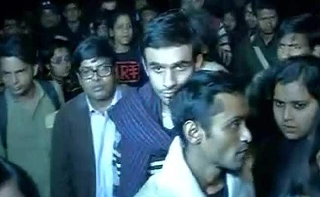 JNU Students Umar Khalid, Anirban Accused Of Sedition, Surrender At Midnight