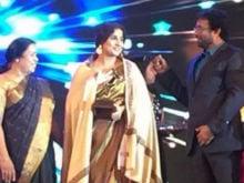 Vidya Balan Receives Pride of Kerala Award