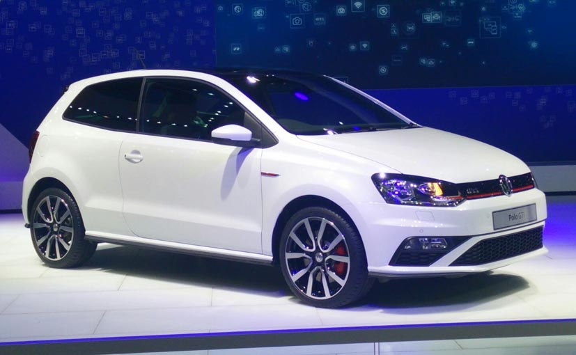 auto expo 2016 volkswagen polo gti unveiled launch in second half of 2016 ndtv carandbike. Black Bedroom Furniture Sets. Home Design Ideas