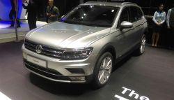 Auto Expo 2016: Volkswagen Tiguan Makes Indian Debut