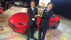 Mazda MX-5 Crowned World Car of the Year 2016