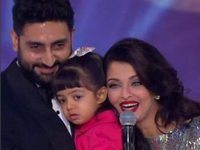 Aishwarya, Abhishek Bachchan Attend Aaradhya's Big Day at School