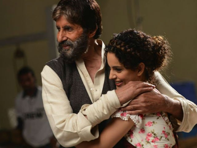 Image result for Kangana and big b pics