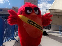 Red, Angry Bird Character Named UN Ambassador For Climate Change