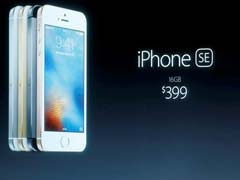 Apple Goes Small For New iPhone SE