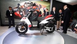 Aprilia SR 150 Launched In India; Priced At Rs. 65,000