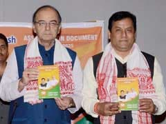BJP's Vision Document For Assam Targets Illegal Migrants